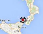 Terremoto oggi Sicilia 2 luglio 2016 scossa M 2.3 costa siciliana nord orientale - Dati Ingv