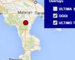 Terremoto oggi Basilicata 5 luglio 2016 scossa M 2.0 in provincia di Potenza - Dati Ingv