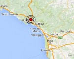 Terremoto oggi Liguria 7 luglio 2016 scossa M 2.7 a La Spezia - Dati Ingv