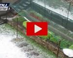 Violenta grandinata  su Bergamo: ecco il video inedito