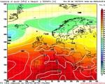 METEO LUGLIO: tendenza sul lungo termine che mostra l'anticiclone dominante sull'Italia, ma con possibili temporali pomeridiani