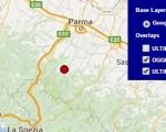 Terremoto oggi Italia 15 luglio 2016 ieri scossa M 2.2 in provincia di Parma - Dati Ingv
