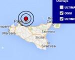 Terremoto oggi Sicilia 18 luglio 2016 scossa M 3.1 Tirreno meridionale - Dati Ingv