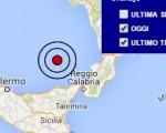 Terremoto oggi Sicilia 22 luglio 2016 scossa M 3.3 Tirreno meridionale - Dati Ingv
