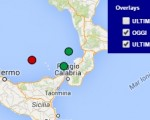 Terremoto oggi Calabria 23 luglio 2016 scossa M 2.0 Tirreno meridionale - Dati Ingv