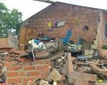 Maltempo intenso in Colombia dove piogge torrenziali e fortissimi venti hanno provocato tanti danni ferendo anche due persone.