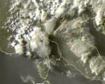 Frame satellitare relativo all'ultima mezzora - Fonte sat24.com