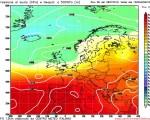 Meteo prossima settimana: tempo in prevalenza stabile grazie all'anticiclone, locali temporali pomeridiani al Centro-Nord per infiltrazioni di aria fresca