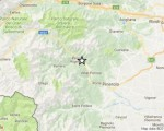 Mappa del sisma - fonte: Ingv