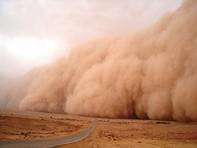 Foto tempesta di sabbia 38