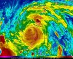Uragano Earl si dirige verso il Messico dopo il landfall in Belize con venti a 130 kmh