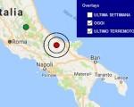 Terremoto oggi Molise 9 agosto 2016 scossa M 3.7 provincia di Campobasso - Dati Ingv