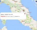 Terremoto oggi Umbria 16 agosto 2016: scossa M 2.7 provincia di Perugia - Dati Ingv