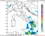 Temporali Sud Italia: tempo instabile per una goccia di aria fredda in quota con fenomeni localmente intensi.