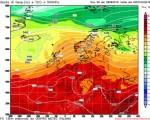 La circolazione instabile che nella prossima settimana tenderà ad isolarsi sulla Penisola determinando instabilità diffusa sui monti