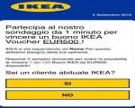 """WhatsApp sotto attacco, la Polizia: """"Attenzione al finto buono spesa da IKEA di 500 euro"""