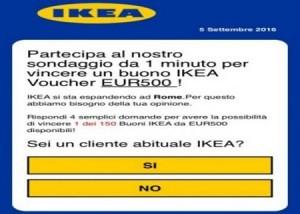 Whatsapp sotto attacco la polizia attenzione al finto buono spesa da ikea di 500 euro - Ikea offre 500 euros ...