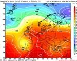 Analisi modelli 8 settembre 2016  - in evidenza le due circolazioni instabili su Penisola iberica e Balcani,c on la nostra Penisola lungo una circolazione altopressoria ben definita - Elaborazione grafica CMI
