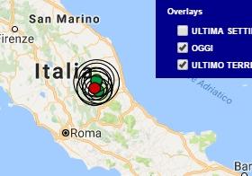 Terremoto oggi Lazio 10 settembre 2016 nuova scossa M 2.8 in provincia di Rieti, ultime news Amatrice - Dati Ingv