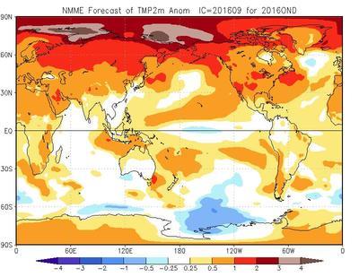 Meteo Autunno 2016: prime tendenze sulla stagione in arrivo - cpc.ncep.noaa.gov