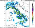 Maltempo Italia: nelle prossime ore nuovo peggioramento dovuto al transito di una saccatura con piogge sparse da Nord a Sud.