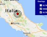 Terremoto oggi Lazio 23 settembre 2016 nuova scossa M 2.8 ad Accumoli, provincia di Rieti - Dati Ingv