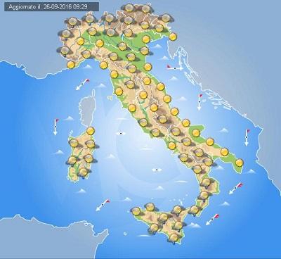 MALTEMPO - Sicilia: attenzione ai TEMPORALI di DOMENICA