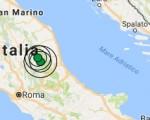 Terremoto oggi Umbria 26 settembre 2016 scossa M 2.3 in provincia di Perugia - Dati Ingv