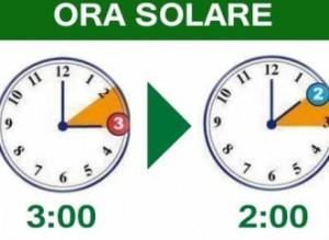 Ora solare 2016 quando il cambio di orario in italia for Quando entra in vigore l ora legale
