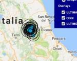 Terremoto oggi Umbria 30 settembre 2016 scossa M 2.3 provincia di Perugia - Dati Ingv