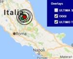 Terremoto oggi Marche 3 ottobre 2016 scossa M 3.4 provincia di Ascoli Piceno - Dati Ingv