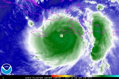 Aumenta paura per potenza uragano Matthew, verso i Caraibi