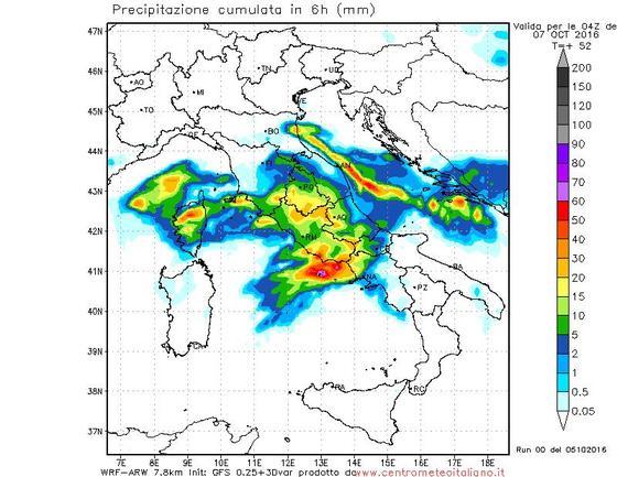 Temporali in arrivo: allerta meteo in Toscana, Lazio e Umbria