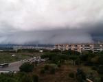 Maltempo Lazio forte temporale a Roma e piogge intense in tutta la Regione