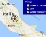 Terremoto oggi Umbria e Calabria, 16 ottobre 2016: scossa M 3 provincia di Perugia, M 2.1 provincia di Crotone - Dati Ingv