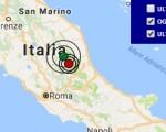 Terremoto oggi Lazio 12 ottobre 2016 scossa M 2.5 in provincia di Rieti - Dati Ingv