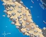 Maltempo sul Centro Italia: tra domani e Sabato piogge e temporali soprattutto su Toscana, Umbria e Lazio.