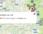 Terremoto oggi Umbria 16 ottobre 2016: ultima scossa M 4.1 epicentro Norcia - Dati Ingv