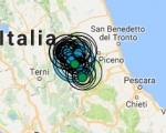 Terremoto oggi Umbria 18 ottobre 2016 lieve scossa M 2.0 provincia di Perugia - Dati Ingv