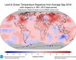 Temperature record mai nessun settembre era stato così caldo come il 2016