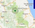 Terremoto oggi Marche 19 ottobre 2016 scossa M 3.0 in provincia di Ascoli Piceno - Dati Ingv