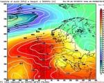 Meteo OTTOBRE: anticiclone africano sull'Italia per la prossima settimana seguito da una goccia fredda in arrivo da est.