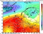 Analisi modelli GFS00Z:  fase anticiclonica da stasera, poi confermate correnti più fresche e instabili in arrivo da mercoledì 23 ottobre 2016