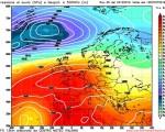 Analisi modelli GFS 00Z del 24 Ottobre 2016: dall' anticiclone sub-tropicale al peggioramento con temperature in netto calo