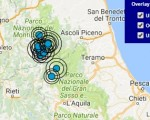 Terremoto oggi Umbria 25 ottobre 2016 scossa M 2.1 provincia di Perugia - Dati Ingv