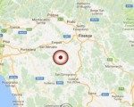 Terremoto oggi Toscana: scossa M. 3,9 in provincia di Firenze