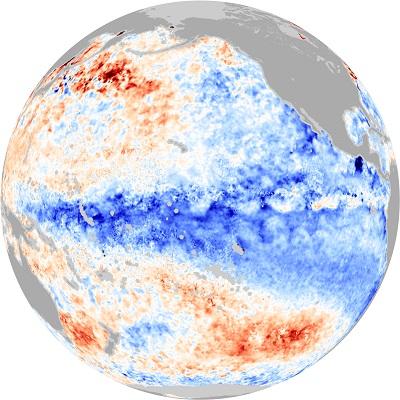 La Niña: condizioni sempre neutrali nel Pacifico ma con anomalie negative