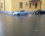Maltempo Calabria Catanzaro allagata da un forte temporale