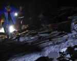 Terremoto Umbria, nella notte piogge torrenziali e sciame sismico - foto ansa