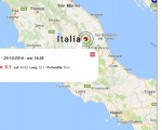 Terremoto oggi Umbria, Marche e Basilicata: scossa M 3.1 provincia di Macerata, M 4.3 provincia di Potenza - Dati Ingv